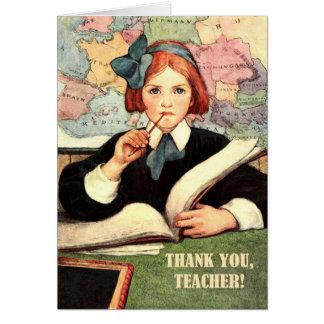 Thank You, Teacher. Customizable Greeting Cards