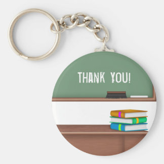 Thank You Teacher Gifts Keychain
