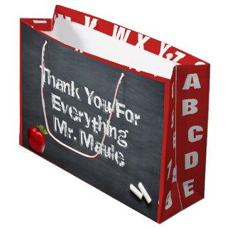Thank You Teacher Large Gift Bag