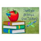 Thank You Teacher -  School Items