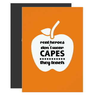 Thank You, Teacher. Teaching Quote | Apple Cards