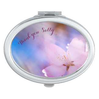 Thank you team bride  customizable travel mirror