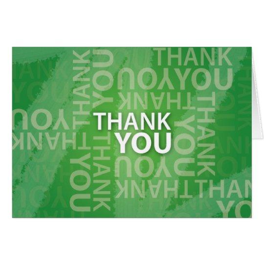Thank You Thank You Thank You! Card