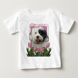 Thank You - Tibetan Terrier Baby T-Shirt