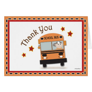 thank you to school bus driver | just b.CAUSE