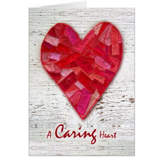 Thank You to Heart Surgeon, Doctor, Stitched Heart Card