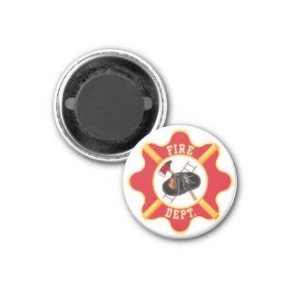 THANK YOU TO OUR FIRE FIGHTERS 1 INCH ROUND MAGNET