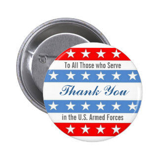 Thank You Troops 2 Inch Round Button