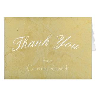 Thank You Tuscan Sun Greeting Card