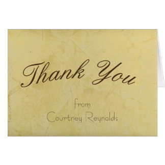 Thank You Tuscan Sun Greeting Card 2.0
