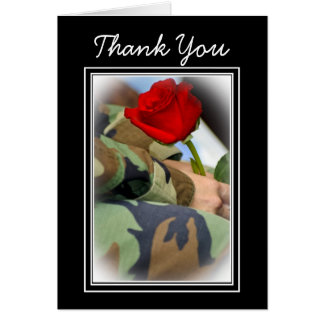 Thank You Veteran Greeting Card