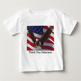 Thank You Veterans Baby T-Shirt