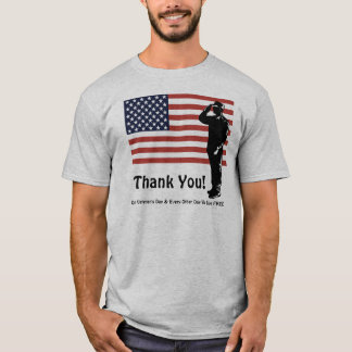 Thank You! Veterans Day Every Day We Live FREE T-Shirt