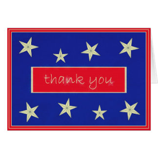 Thank You Veterans Day Note Card