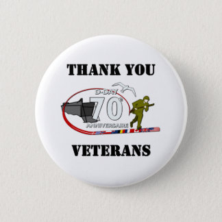 Thank you veterans - Thank you veterans 2 Inch Round Button
