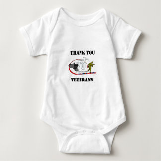 Thank you veterans - Thank you veterans Baby Bodysuit
