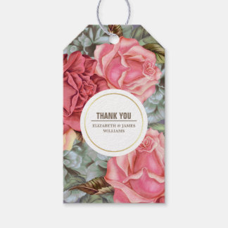 Thank You Wedding Anniversary Favor Tags