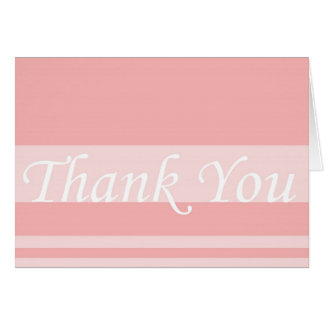 Thank You Wedding Gift Acknowledgement Blank Insid Card