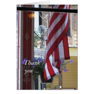 Thank you & Welcome Home - Military Greeting Card