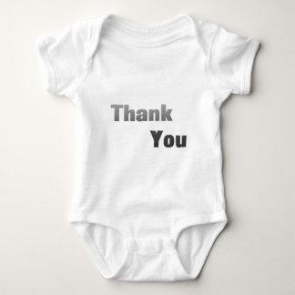 Thank-You-(White) Baby Bodysuit