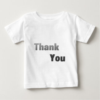 Thank-You-(White) Baby T-Shirt