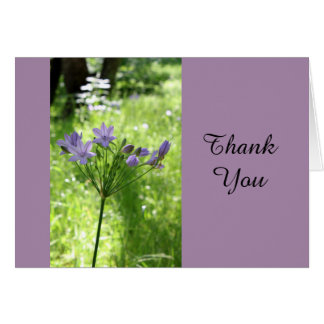 Thank You Wildflower Note Card