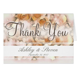 Thank You with Flowers Card