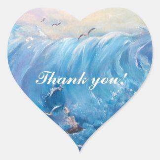 thank youSticker Heart Sticker