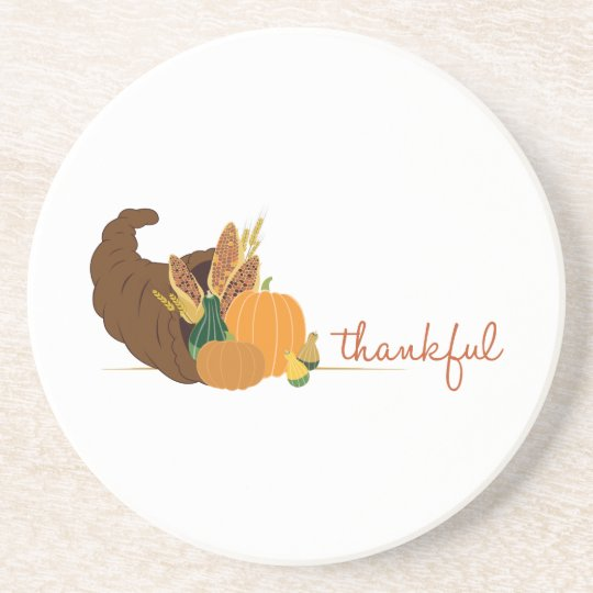 Thankful Coaster