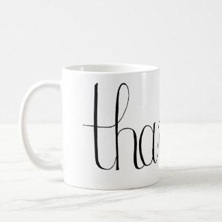 Thankful Coffee Mug