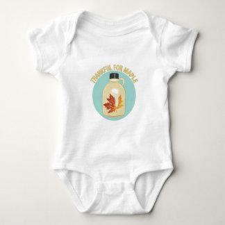 Thankful For Maple Baby Bodysuit