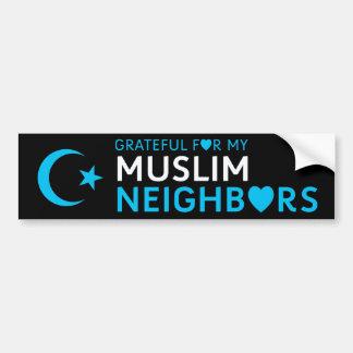 Thankful for my Muslim Neighbor Bumper Sticker