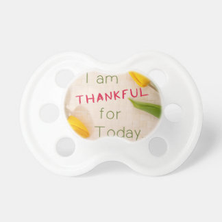 Thankful For Today Baby Pacifier