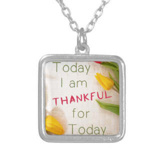 Thankful For Today Necklace