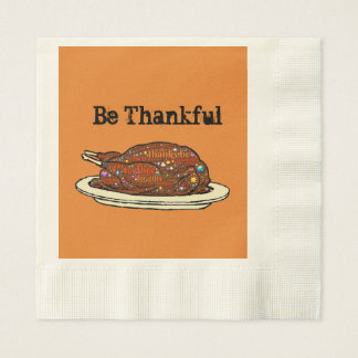 Thankful For You Disposable Napkin
