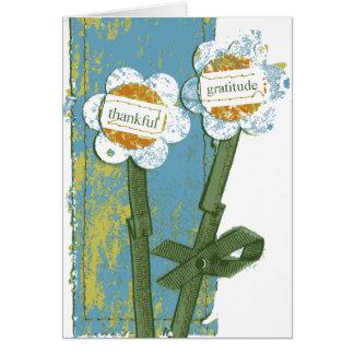 Thankful Gratitude Card