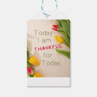 Thankful Motivational Qoutes Pack Of Gift Tags
