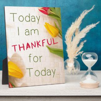 Thankful Plaque