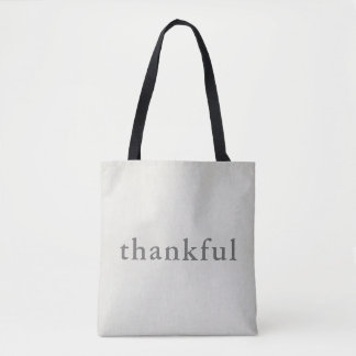 Thankful Thankful Tote Bag
