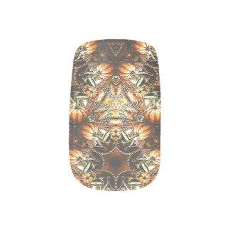 Thankful Tradition Minx Nail Art
