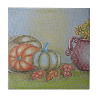 Thankgiving still life tile