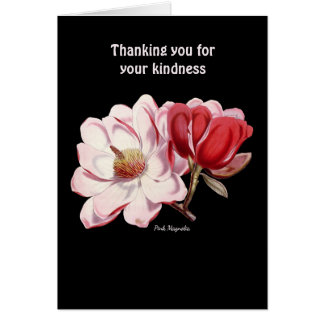 Thanking You For Your Kindness Card