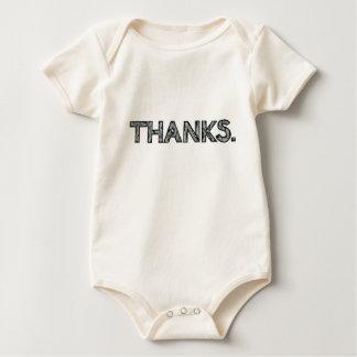 THANKS | Baby Apparel | Customizable Baby Bodysuit