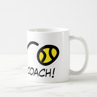 Thanks Coach! Tennis mug