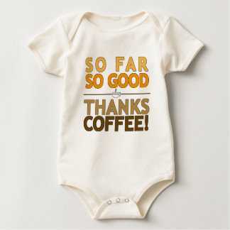 Thanks Coffee Baby Bodysuit