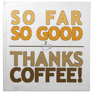 Thanks Coffee Napkin