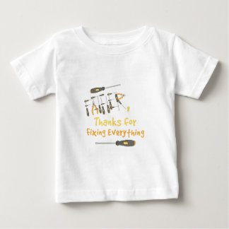 Thanks Fathers Baby T-Shirt