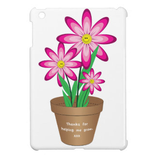 Thanks For Helping Me Grow - Happy Flower iPad Mini Covers