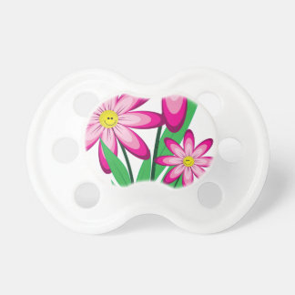 Thanks For Helping Me Grow - Happy Flower Pacifier