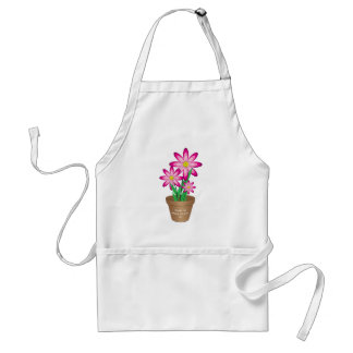 Thanks For Helping Me Grow - Happy Flower Standard Apron